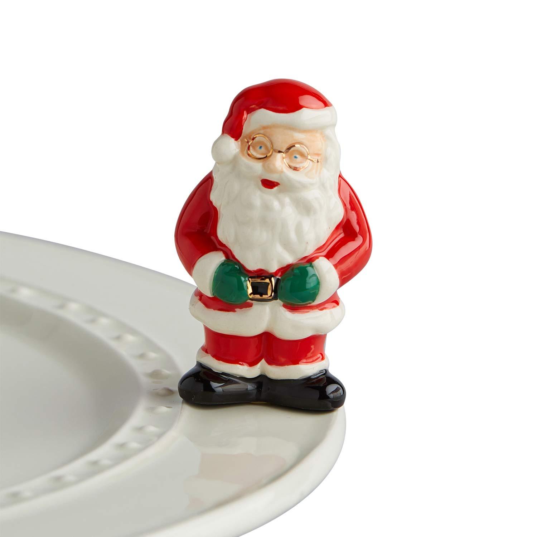 Nora Fleming Santa Mini - 父のクリスマス - 手描きセラミックチャーム - A221   B07H7RN255