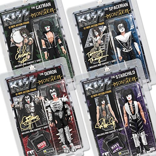 KISS 12 Inch Action Figures Series Four Monster: Set of all