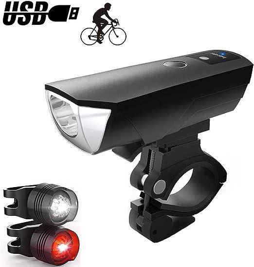Eashnace Luces LED para Bicicleta, Luces LED para Bicicleta de ...