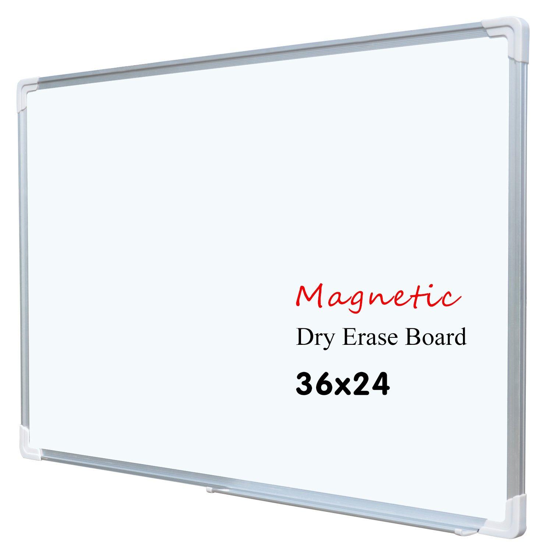 36 x 24 pulgadas Junta de borrado en seco magnético pizarra blanca ...