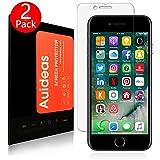 iPhone 7 Pellicola Protettiva Auideas 2 Pack in Vetro Temperato Screen Protector Film Ultra Resistente (0,25mm HD Alta trasparente)