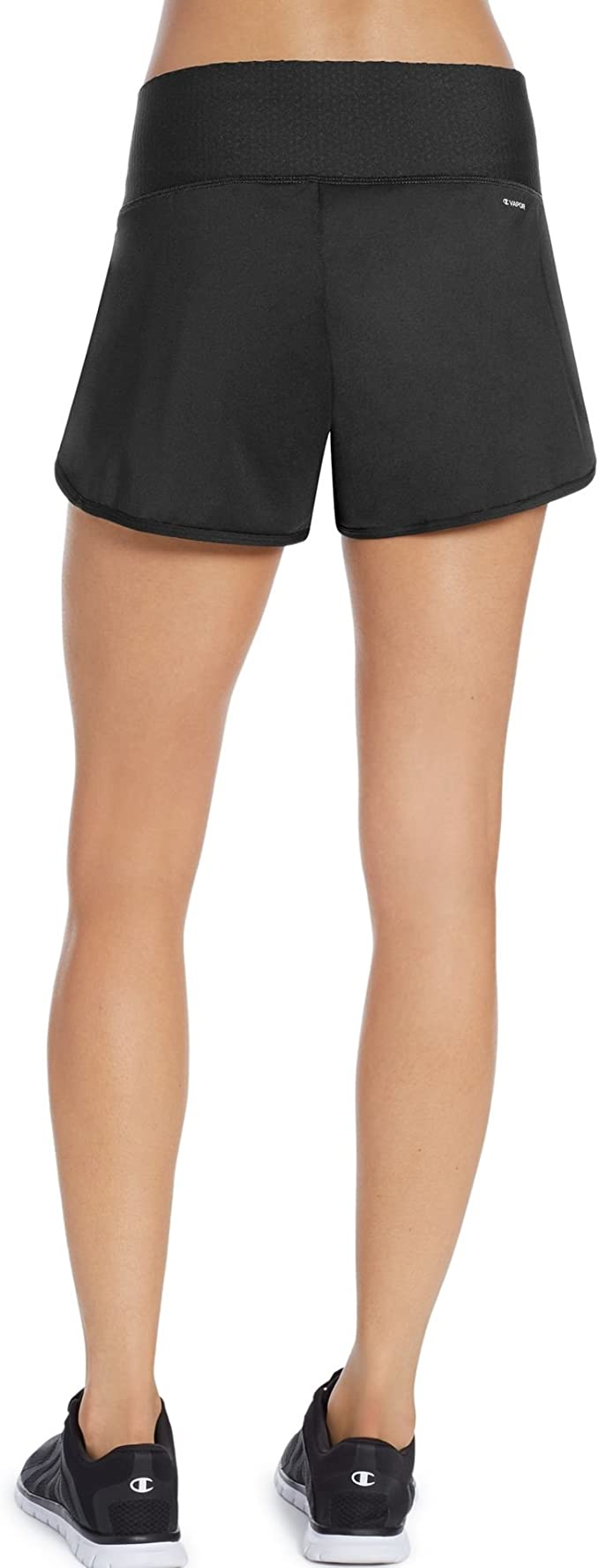 Champion Absolute Fusion Shorts SmoothTec Waistband Womens 7 inch Black sz XS-XL
