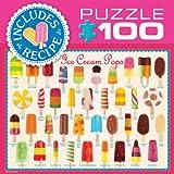 EuroGraphics Ice Cream Pops Mini Puzzle (100-Piece)