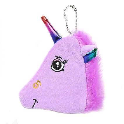 Ruikey Monederos Niña Unicornio Cartera De Dibujos Animados ...