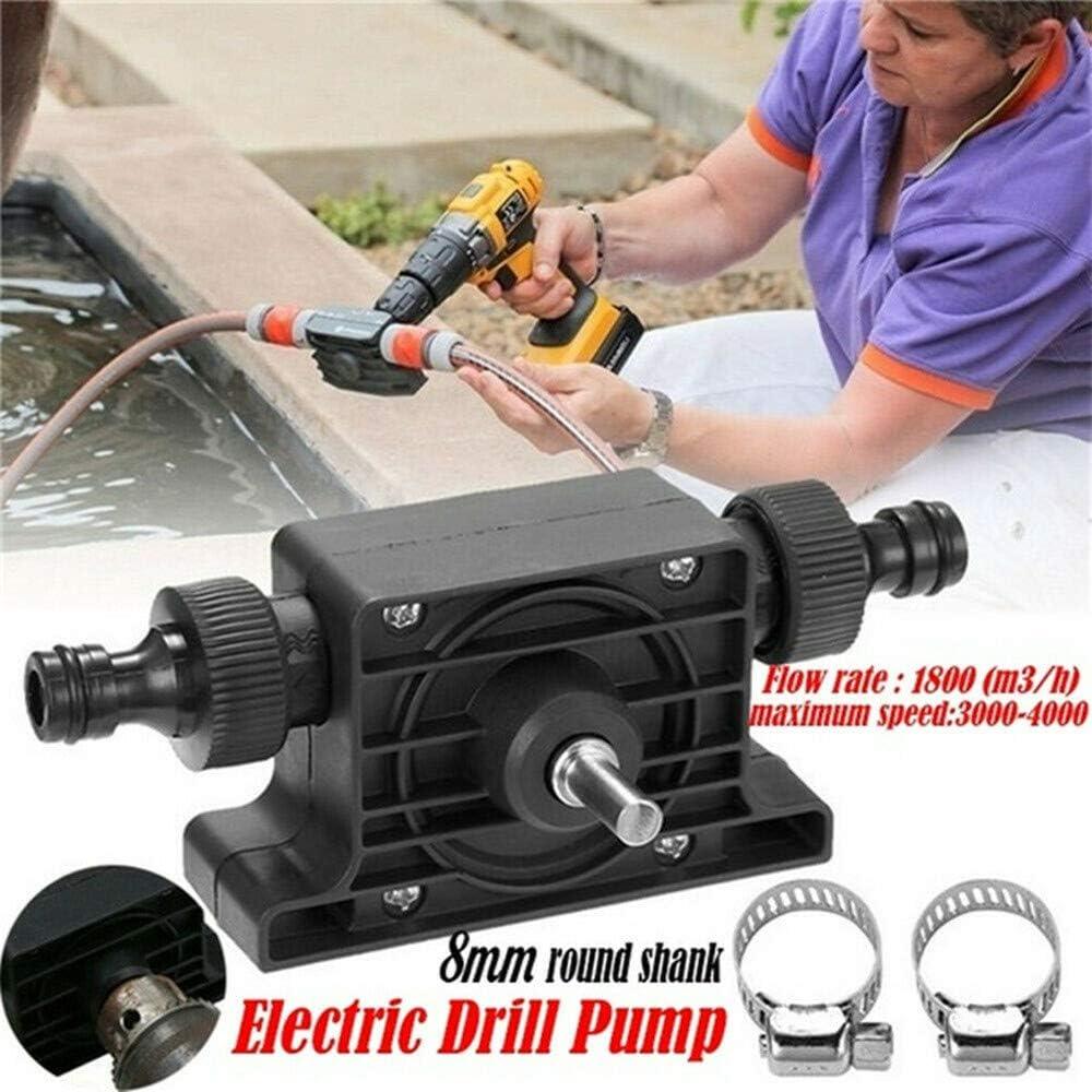 Plastic Hand Electric Drill Drive Self Priming Pump Oil Transfer Fluid