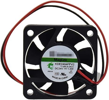Enfriador de ventilador de refrigeración 4010 sin escobillas 40X40X10mm 5V 12V 24V DC 2 Pin