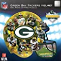 NFL Green Bay Packers 500 Piece Helmet Puzzle