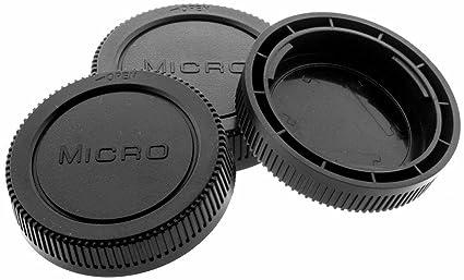 4 X Nikon F Objektiv Rückdeckel  Objektivdeckel Deckel NIKON AF Rear Lens Cap