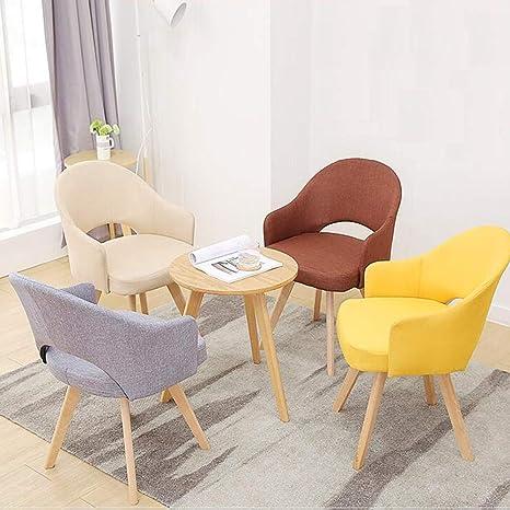WYYY silla de Oficina Silla del Comedor Silla De Mesa Patas ...