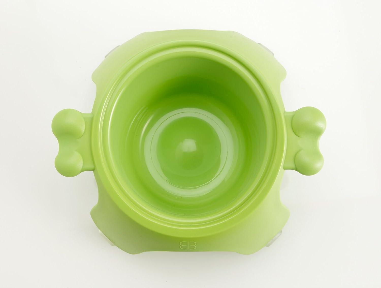 Green Medium Green Medium Petego Yoga Raised Pet Bowl, Medium, Green