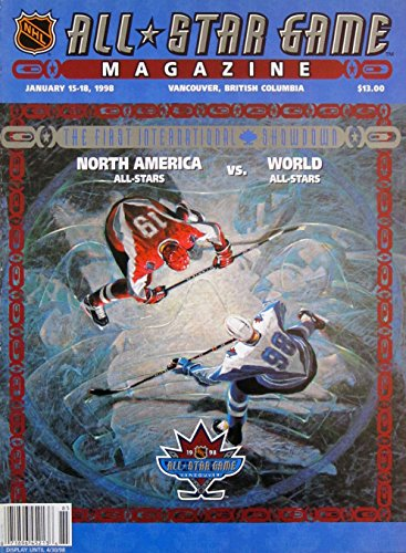 1998 NHL All Star Game Program Vancouver