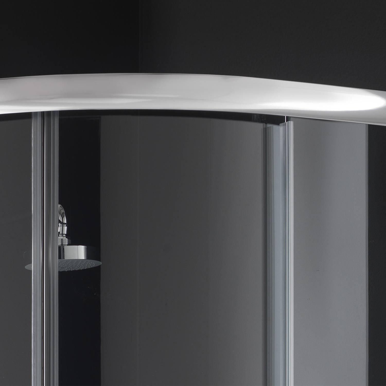 Box doccia semicircolare 80x80 H185 stampato C mod Alabama