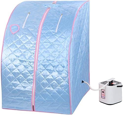 GC Global Direct 2l Portable Steam Sauna Tent SPA Detox Weight Loss w/Chair Blue
