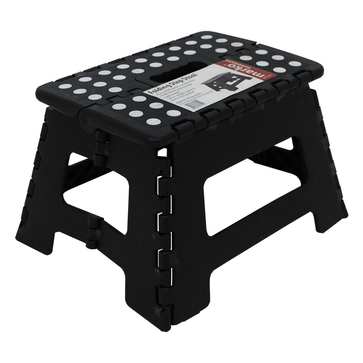 150KG Single Step Plastic Folding Step Up Stools Collapsible Foldaway Large Heavy Duty  sc 1 st  Amazon UK : folding step up stool - islam-shia.org