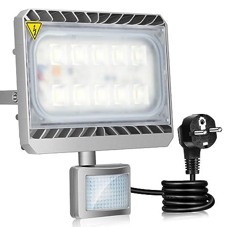 GOSUN® 50W Blanco Frío LED Foco Proyector Luz, Foco proyector con iluminación LED y
