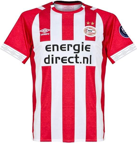 Umbro 2018-2019 PSV Eindhoven Home Football Soccer T-Shirt Maglia ...