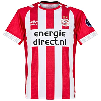 a22c2991273 Amazon.com   Umbro 2018-2019 PSV Eindhoven Home Football Soccer T-Shirt  Jersey   Sports   Outdoors