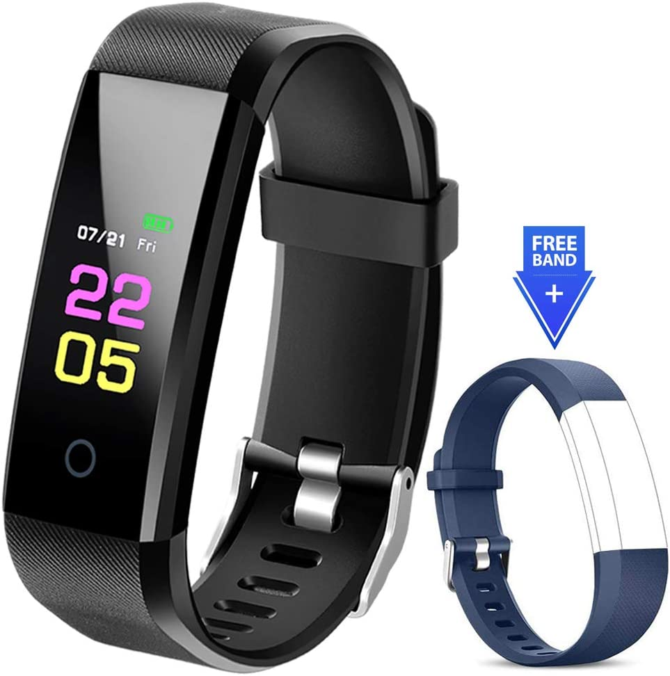 Fitness Tracker - Activity Tracker Watch with Heart Rate Blood Pressure Monitor