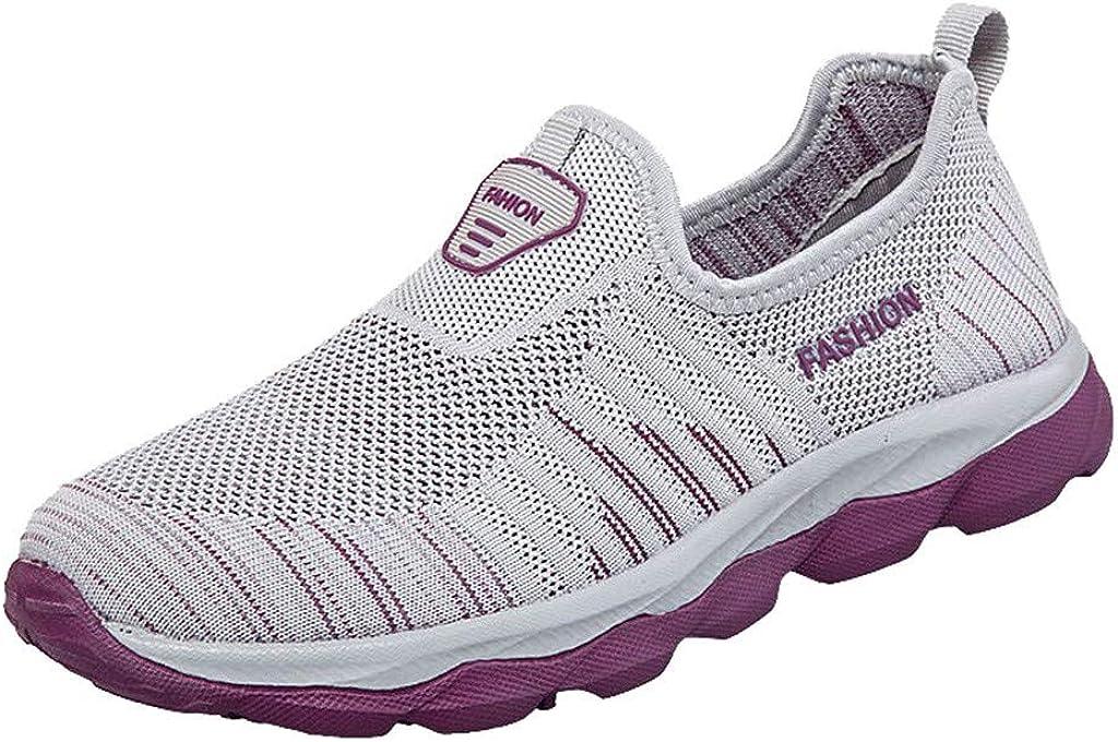 Womens Slip on Shoes Hemissy Womens Slip on Sneakers Walking Tennis Casual Sports Sock Comfort Shoes