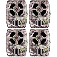 Primos 16 MP No Glow Proof Cam Trail Camera, Truth Swat, 64055 - 4-Pack