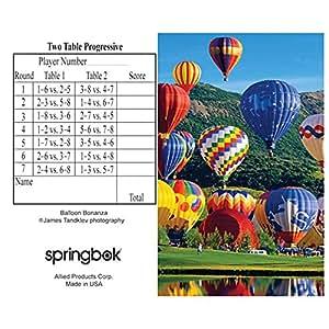 Springbok Puzzles Balloon Bonanza Bridge Tally Sheets