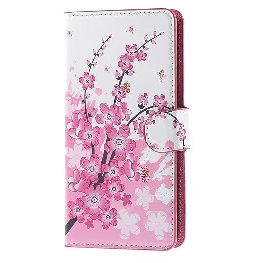 46 opinioni per Cover per Huawei Y635,PU Cuoio Portafoglio Guscio Flip Case Wallet Cover