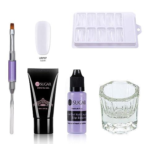 Poly Quick Gel Extension Kit de uñas profesional Pegamento de extensión rápida Poly Quick gel de
