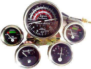 Gauge Tachometer Set Massey Ferguson MF MF35 MF50 MF65 TO35 F40 MH50