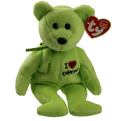 Image Unavailable. Image not available for. Color  TY Beanie Baby - COLORADO  the Bear (I Love Colorado - State Exclusive) 2df51f978af4