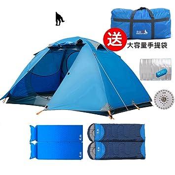 outdoor double double tent/c&ing Kit/Storm wind-proof tents  sc 1 st  Amazon.com & Amazon.com : outdoor double double tent/camping Kit/Storm wind ...