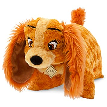 Disney Lady Dog Pillow Pal Plush Pet Doll NEW and the Tramp by Disney