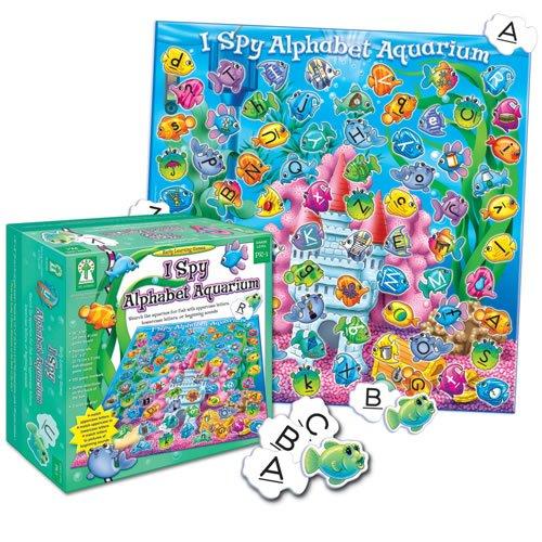 I Spy Alphabet Aquarium: Search the aquarium for fish with