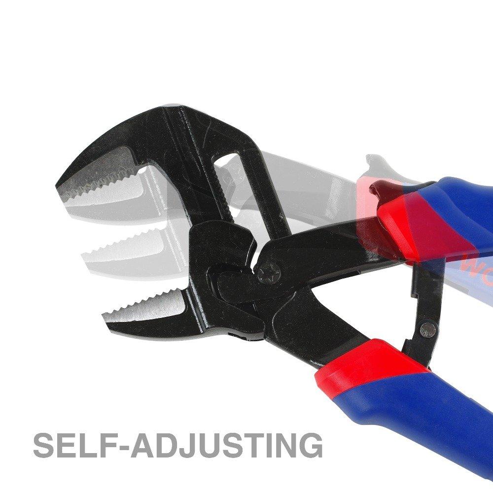 WORKPRO 7.5'' 10'' Pump Pliers Set Multi Functional Pliers General Plumbing Pliers