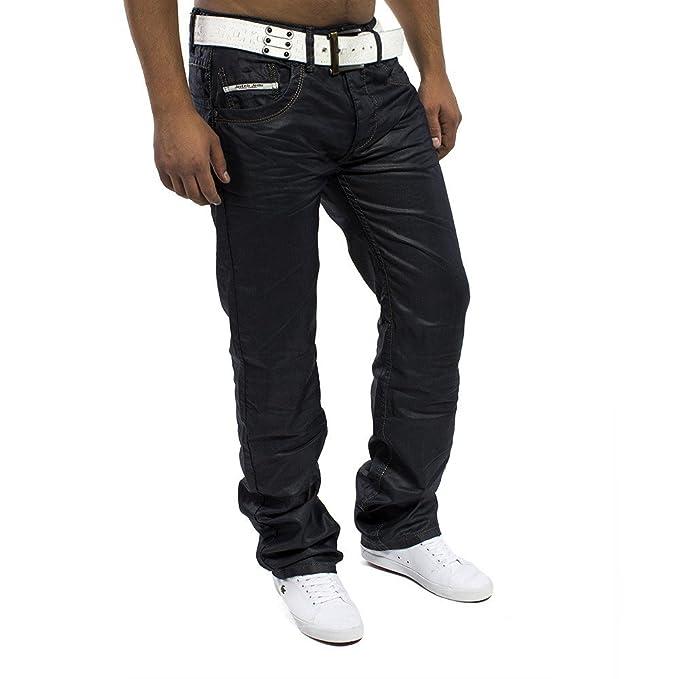 Pantalones vaqueros Para hombre serpiente ID1121 regular fit ...