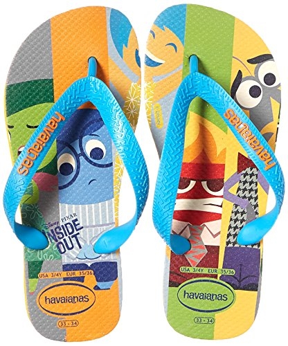 Pictures of Havaianas Kids Flip Flops Sandals, Inside Out, (Toddler/Little Kid) 4