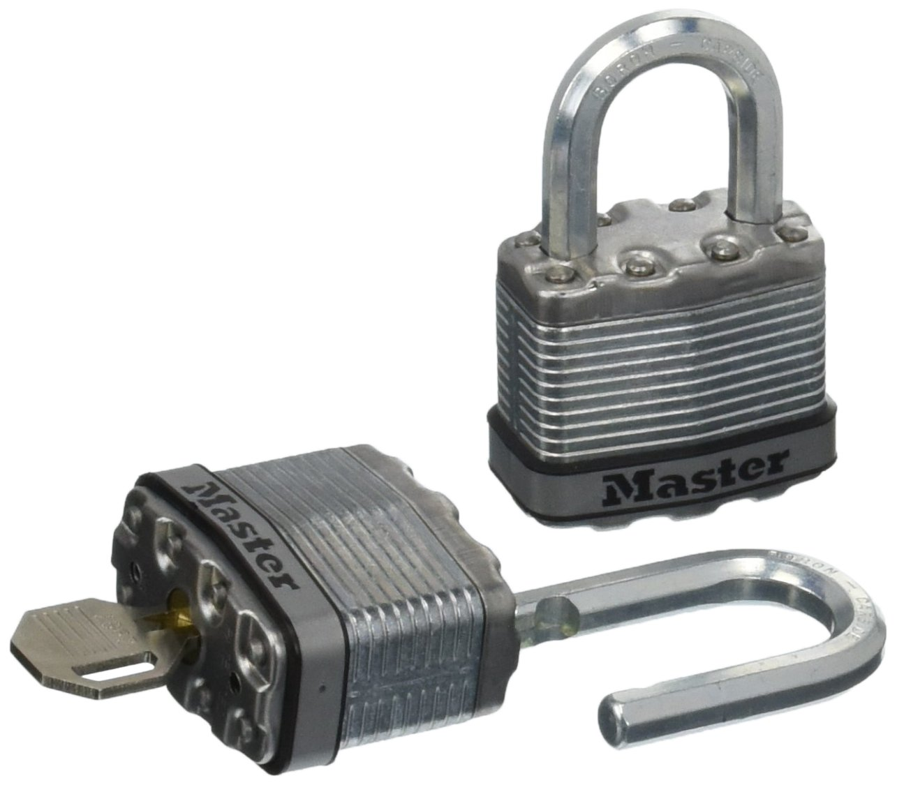 Master Lock M1XTHC 1-3/4'' Stainless Steel Magnum Padlock (2 Count)