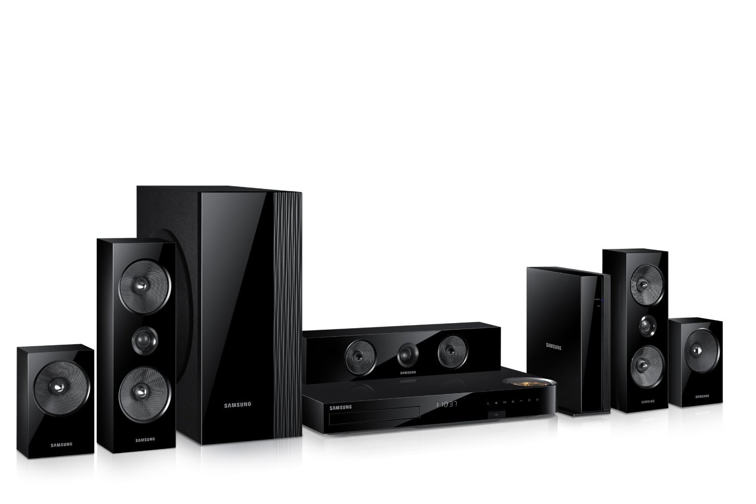 home theater 5 1. amazon.com: samsung 5.1 channel 1000 watts wireless surround sound 3d blu-ray home theater system: electronics 5 1 y