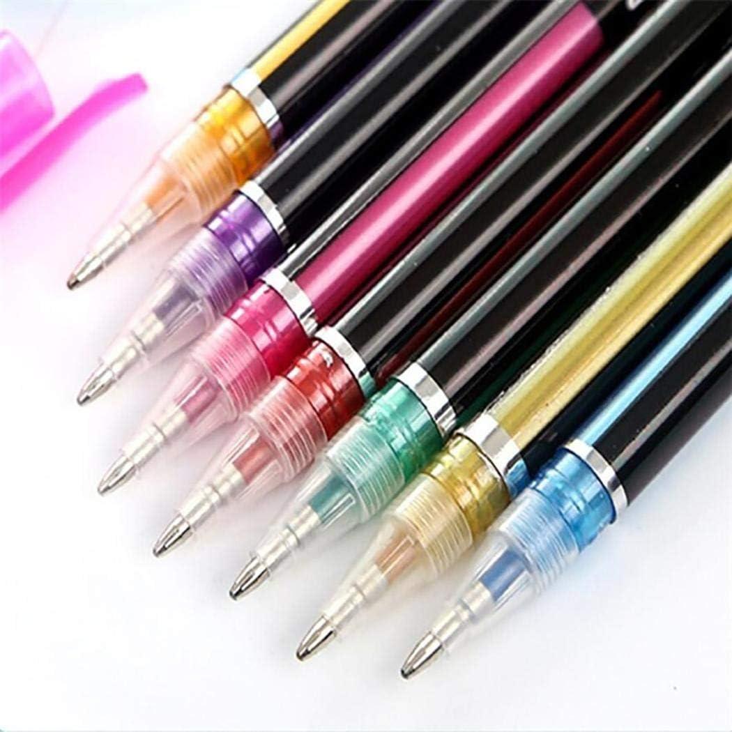 Scrittura e correzione matite Kloius Evidenziatore Pen Creative Pen per evidenziatori di Colore Morbido Penne