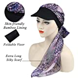 Alnorm Chemo Hats for Hair Loss Newsboy Cap for