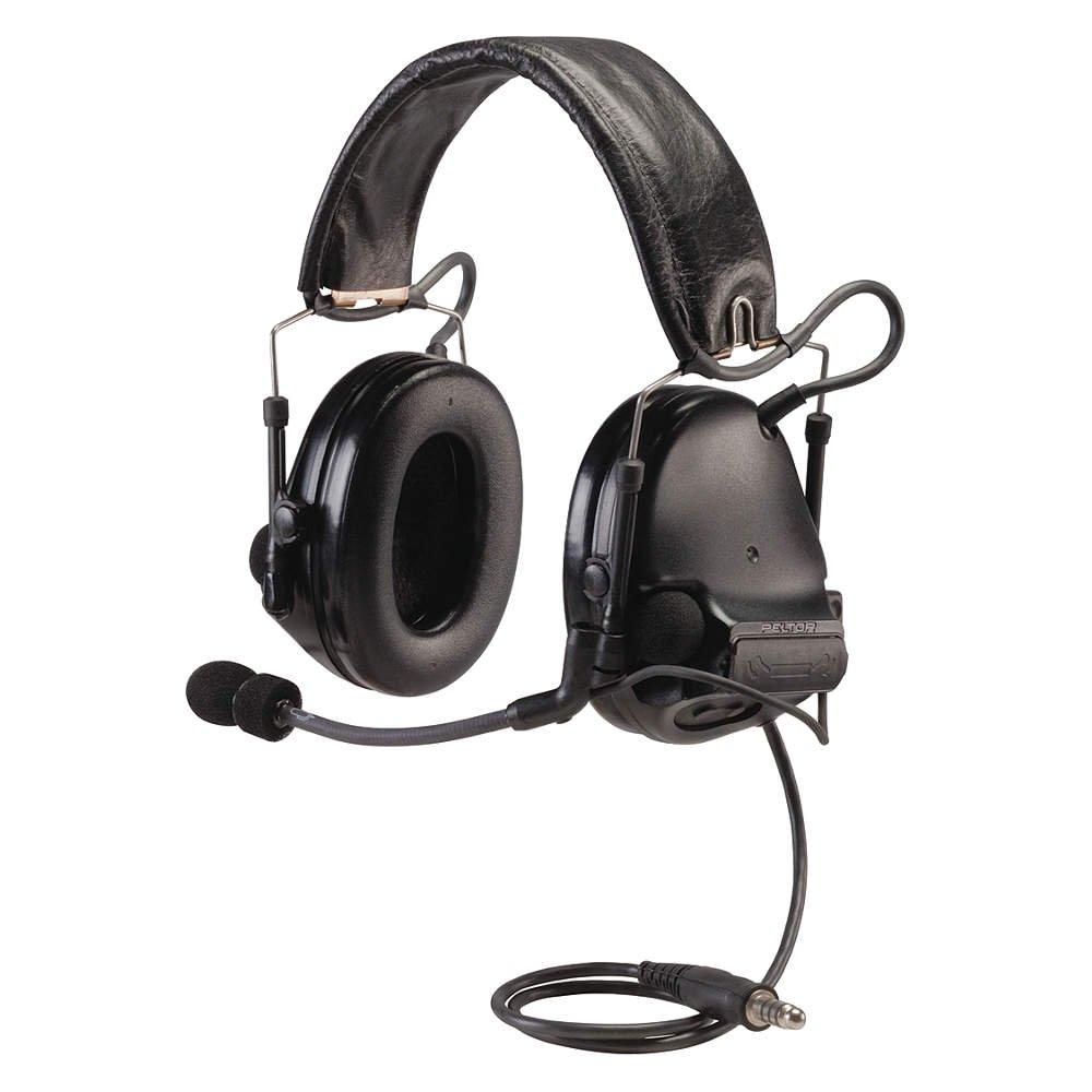 peltor swat tac iii ach single comm headset black amazon com
