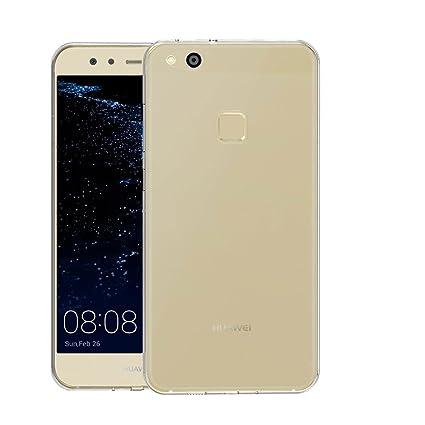 Huawei P10 Lite Carcasa , YIGA Moda Cristal Transparente TPU ...