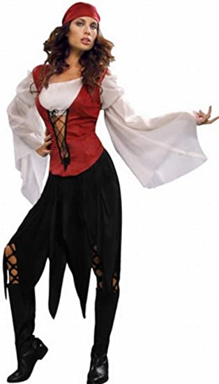 Disfraz de Pirata Mujer Talla M/L: Amazon.es: Juguetes y juegos