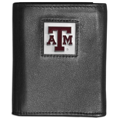 NCAA Texas A&M Aggies Leather Tri-Fold Wallet