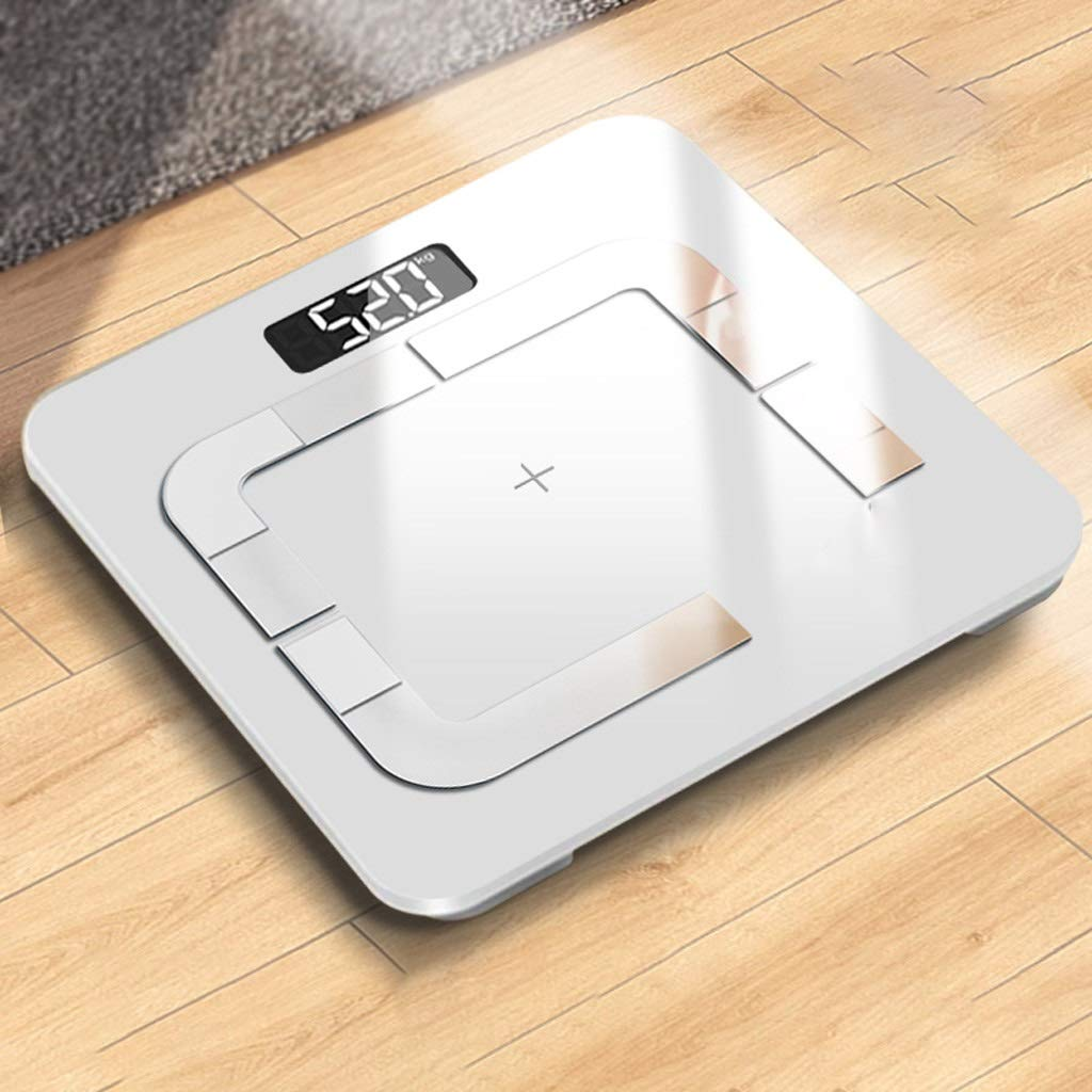 DOZ Smart Body Fat Scale Home Slimming Mini Accurate Woman Body Weight Loss Weighing Electronic Weight Fat Balance by DOZ