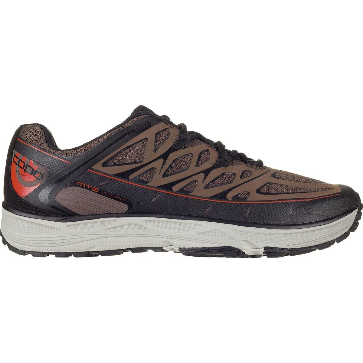 Topo Athletic MT2 Running Shoe - Men's B06VXCV6TS 10.5 D(M) US|Brown/Black