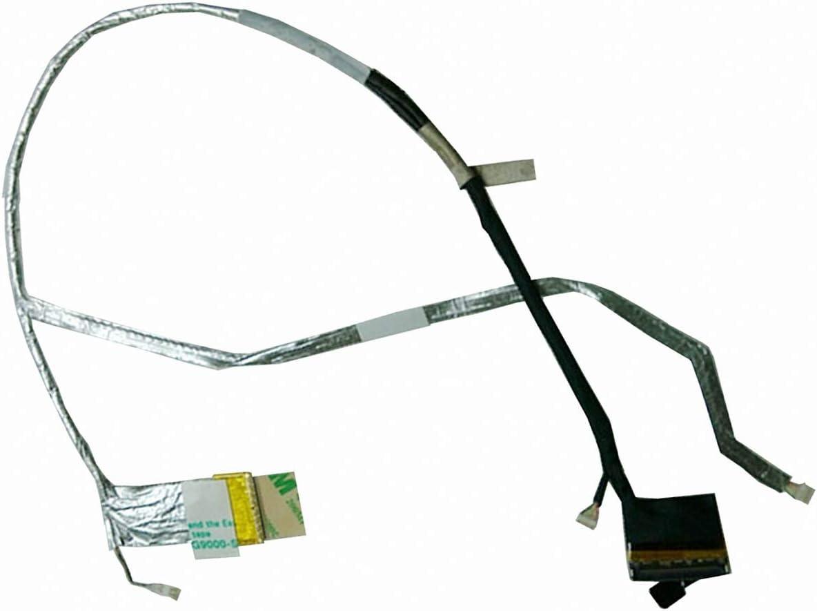 Todiys LCD LED Video Screen Cable for HP Pavilion DV7-6000 DV7-6B DV7-6C DV7T-6000 Series DV7-6135DX DV7-6143CL DV7-6166NR DV7-6168NR DV7-6B32US DV7-6B55DX 50.4RH02.011 50.4RN10.002 654103-001