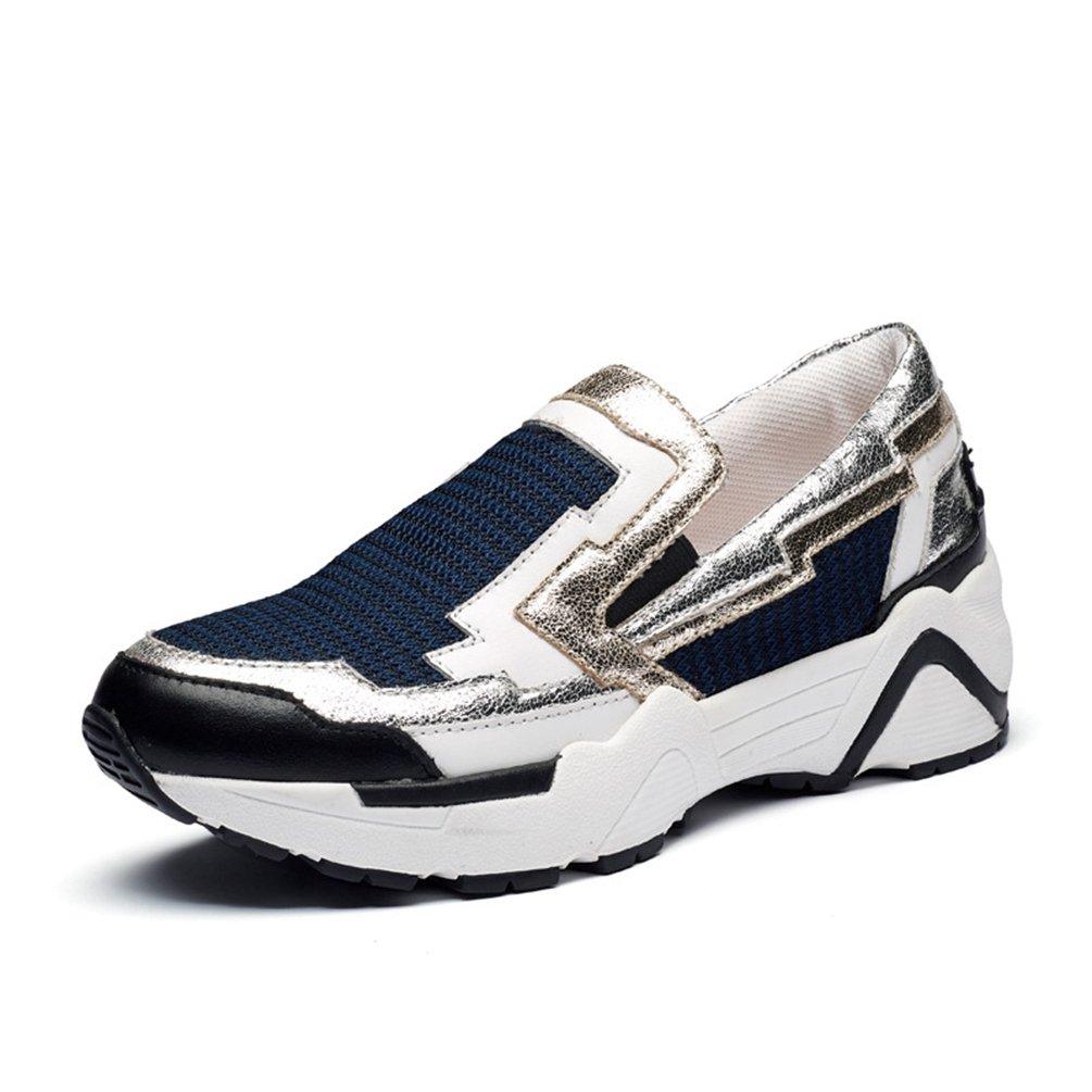 1b3bb67773bd3 LFEU Femme Chaussure de Sport Runnin Loafers Sneakers Loisir Basket Mode  sans Lacets Pour Jeunesse Etudiante Sport Fitness Respirant 35-39:  Amazon.fr: ...