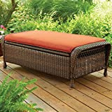 Better Homes & Gardens* Outdoor Storage Ottoman in Burnt Orange