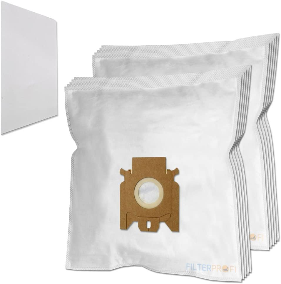 1 Filter Vacuum Cleaner Dust Bags For Miele Solution Hepa 5281 Pack of 10