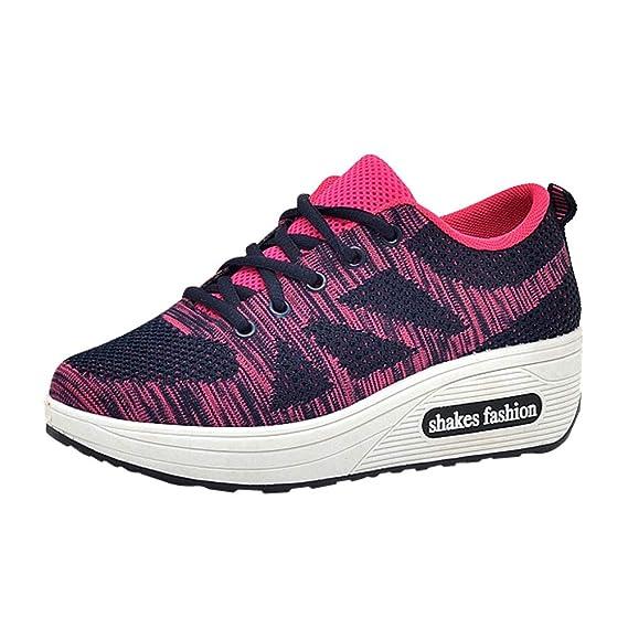 BBestseller-Zapatos Running Zapato Aumento Sandalias para Mujer zapatillas de deporte Otoño e invierno Sneakers Zapatos de senderismo: Amazon.es: Ropa y ...